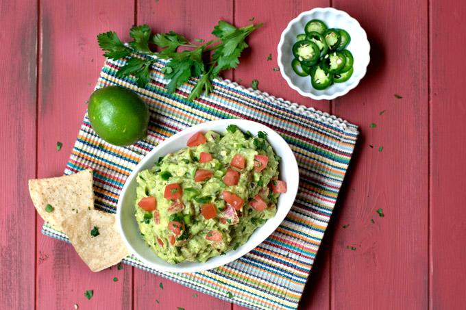 Guacamole ready to eat