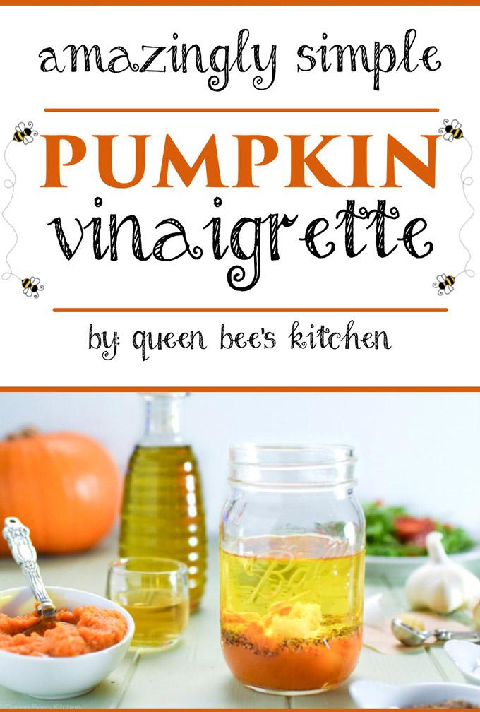 Delicious Pumpkin Vinaigrette