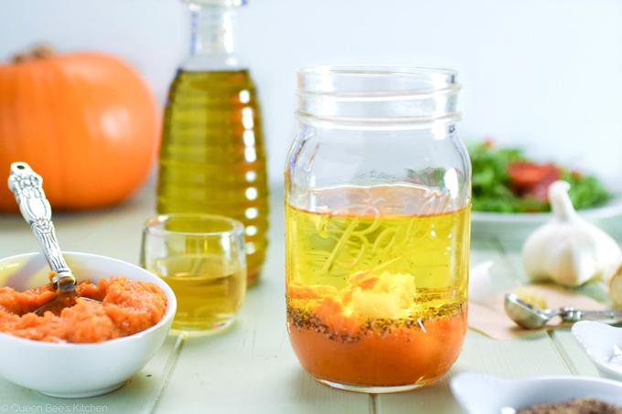 Pumpkin vinaigrette - everything