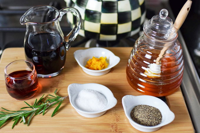 Pomegranate molasses sauce ingredients