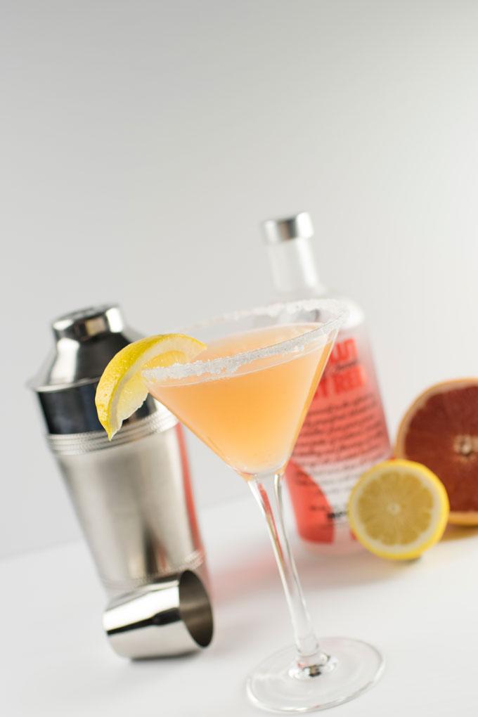 Ruby Red Lemondrop Martini