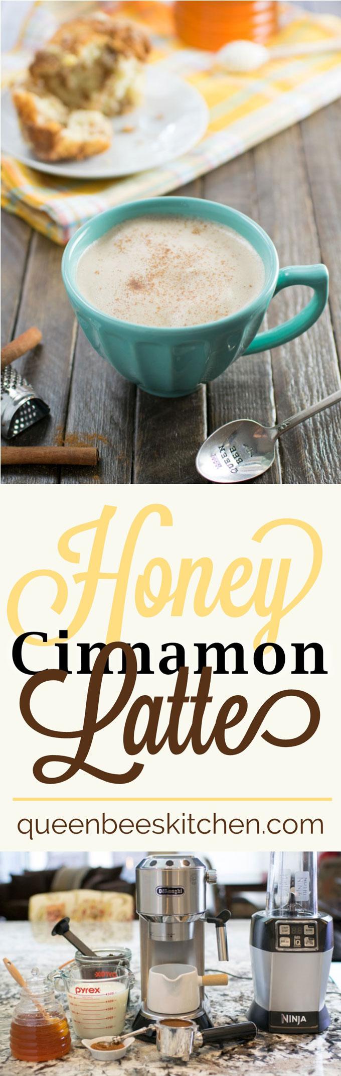 Honey Cinnamon Latte - YUM