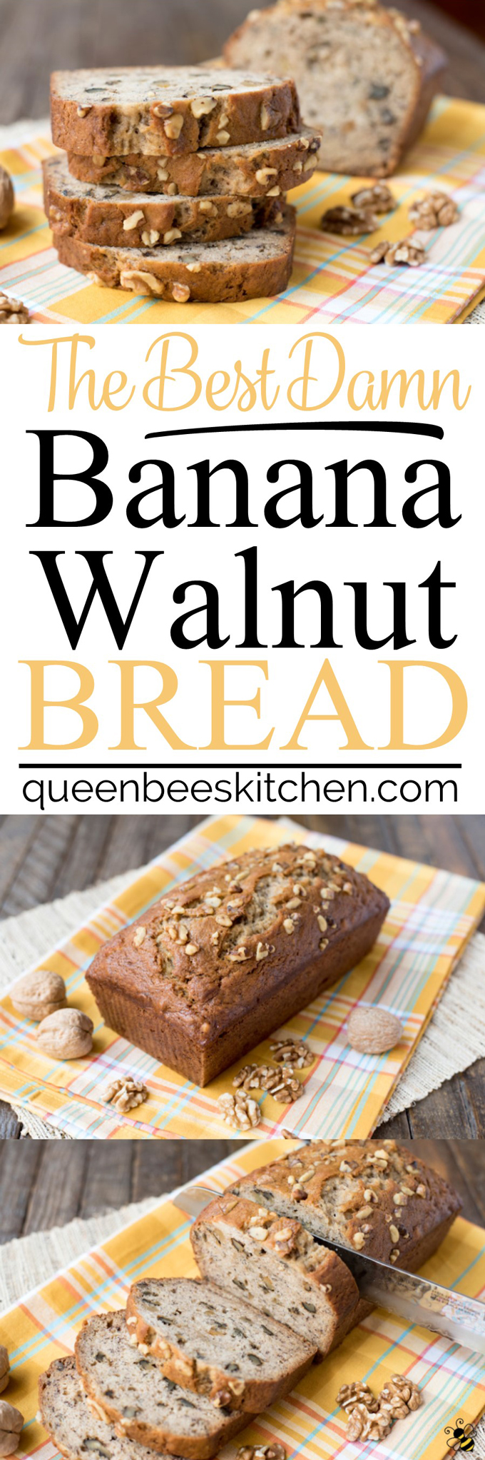 Best Damn Banana Walnut Bread